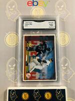 2010 Topps Derek Jeter #13 Yankees - 10 GEM MINT GMA Graded Baseball Card