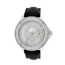 Men's Ice Mania IM3066 Genuine Diamond 24-Hour Dial Illusion Dial Watch 0.08 CT.