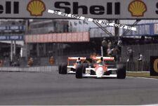 Fotografía 9x6, Senna & Berger McLaren-Honda MP4/5B British GP 1990