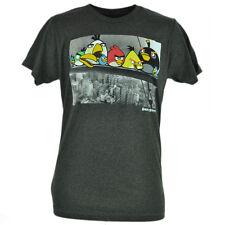Angry Birds Steel Workers New York City Video Game Smart Phone App Tshirt