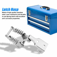 Stainless Steel Hardware Cabinet Case Spring Loaded Latch Catch Toggle Hasp