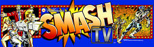 Smash TV Arcade Marquee For Reproduction Header/Backlit Sign