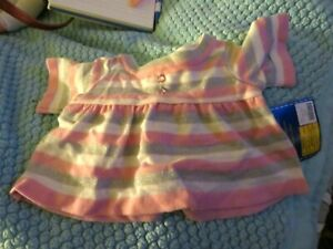 Build-A-Bear Workshop pink striped sweater - NWT