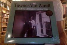 Townes Van Zandt Live at the Old Quarter Houston Texas 2xLP new vinyl + download