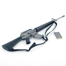 "1/6 US Soldier Assault Rifle M16A1 Plastic Weapon Gun Model For 12"" Figure Toy"