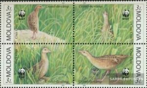 Moldawien 379-382 block of four (complete issue) unmounted mint / never hinged 2