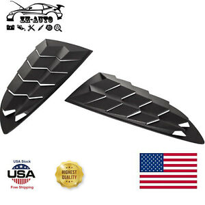 Left Right Side Window Louver for Hyundai Genesis Coupe 2010-2016 Windshield ABS