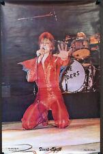 DAVID BOWIE Ziggy Stardust 1974 Vintage Head Shop Poster