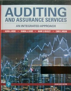 AUDITING AND ASSURANCE SERVICES 17e by Arens et al. (ACADEMIC REVIEW COPY)