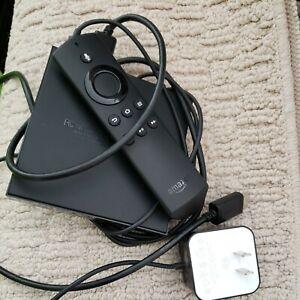 Amazon Fire TV 2nd Generation DV83YW Media Streamer Video Games, 4K  8 GB- Black