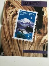 1989 Us Postal Service Poster # 639 Majestic Washington