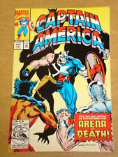 CAPTAIN AMERICA #411 MARVEL COMIC HIGH GRADE NICE CONDITION JANUARY 1993