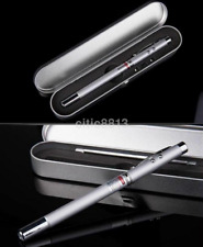 4 in 1 Laser Pointer Pen Telescopic Ballpoint Pen for Presentation CA