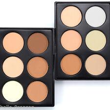 6 Colour Face Powder Makeup Bronze Highlight&Contour Mini Palette Golden Sugar