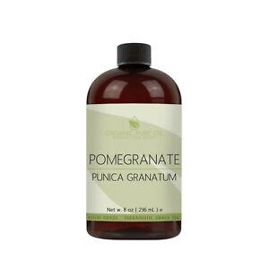 Pure Pomegranate Seed Oil Non-GMO Unrefined Moisturizing Skin Nail Body Care 8oz