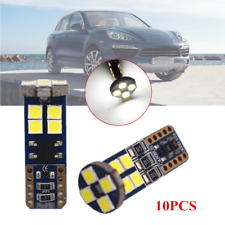10x720LM Canbus T10 White Car Parking Side Light Lamp Wedge Bulb 3030 12 SMD LED