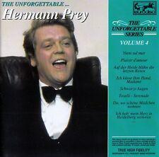 HERMANN PREY : THE UNFORGETTABLE SERIES - VOLUME 4 / CD - TOP-ZUSTAND