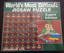 Leprechauns Luck World Most Difficult Jigsaw Puzzle (Expert Edition) 500 Pieces