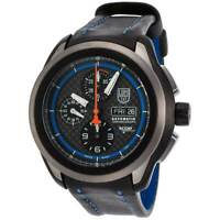 Luminox Men's XCOR Aerospace Black and Blue Strap Watch 5261 - Authorized Dealer