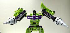WEIJIANG 6pcs Transformers  scalated G1 Devastator with custom hand paint Drills