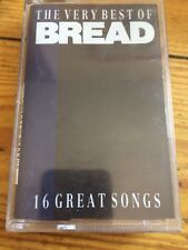 The Very Best of Bread 16 Great Songs Cassette Tape Album Play Tested