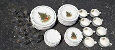 48 Pcs PFALTZGRAFF CHRISTMAS HERITAGE Service for 8 Dinner & Bread Plates Bowls