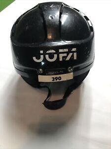 JOFA 390 SR Senior Vintage Black Hockey Helmet 6 3/4-7 3/8