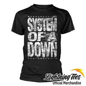 Official System Of A Down Distressed Logo Band T-Shirt