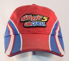 Kellogg's CarQuest Mark Martin Cap Red White Blue Nascar Chase Authentics No. 5