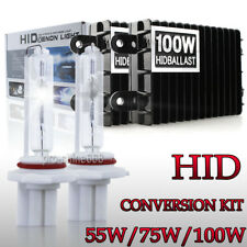 AC 100W 75W 55W Xenon Headlight HID Conversion Kit Light 9006 HB3 H4 H11 H7 W1