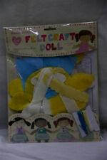 Childrens Make your own Felt Craft Doll Kit  -  NEW