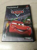 Disney Pixar Cars PlayStation 2 PS2 THQ