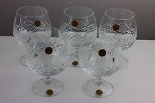Cristallerie ZWIESEL Set di cinque bicchieri Palloncino ECHT BLEIKRISTALL cristallo 24%