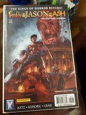 Freddy vs Jason vs Ash The Nightmare Warriors #2 Wildstorm Dynamite *Very Rare*