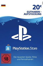 20€ PSN DE Playstation Network Code Card 20 Euro € EUR PS4 PS3 Versand per Email