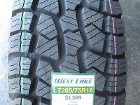 4 New LT 265/75R16 Westlake SL369 Tires 75 16 R16 2657516 AT All Terrain 10 Ply