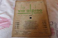 LA VIE ALPINE 14  revue du régionalisme dans les alpe française 1929