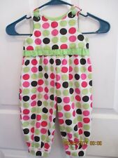 baby girls Remember Nguyen size 9 months one piece outfit EUC