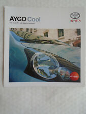 Toyota Aygo Cool brochure Feb 2006 German text