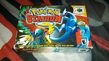 Pokemon Stadium 2 (Nintendo 64, 2001) Complete in Box CIB w Manual N64 Game