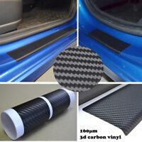 Chevrolet Aveo 2011-2017 Einstiegsleisten 3D Carbon Schwarz Schutzfolie 4 St