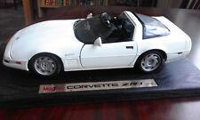 CORVETTE ZR1 1992 1/18 Scale   diecast model car