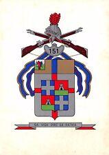 1477) TRIESTE, 151 REGGIMENTO FANTERIA SASSARI.