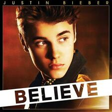 JUSTIN BIEBER - BELIEVE Deluxe Edition CD  DVD Inc Photos Poster (NEW) Boyfriend