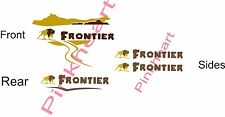 Frontier Decals colors RV sticker decal graphics trailer camper rv 5th wheel K-Z