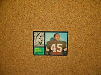 1962 Topps Football #36 Ernie Davis (Cleveland Browns) SP (RC)