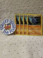 Pokémon TCG x4 Pupitar #42/124 Uncommon XY: Fates Collide Mint English Fighting