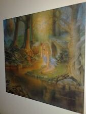 Printed Canvas:Savatage-Edge Of Thorns-art lp(Trans-Siberian orchestra/avatar)