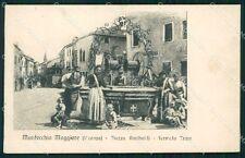 Vicenza Montecchio Maggiore Tram cartolina QT2527