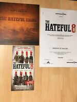 THE HATEFUL EIGHT 8 Presseheft + Programm TARANTINO / NO Poster ONCE HOLLYWOOD